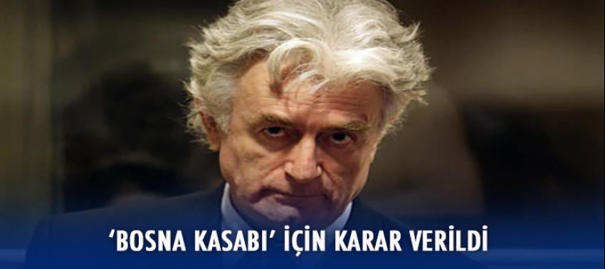 Bosna Kasabı için karar verildi