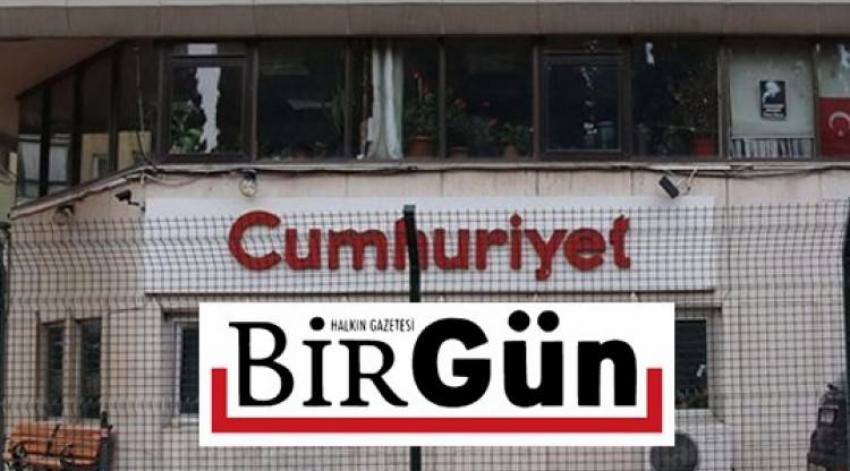 Cumhuriyet ve Birgün'e şok: Soruşturma başlatıldı!