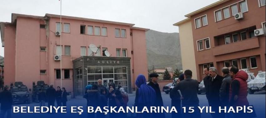 Hakkari Belediyesi Eş Başkanlarına 15'er yıl hapis
