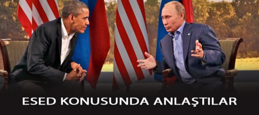 Rusya ile ABD Esed konusunda bu kez anlaştı