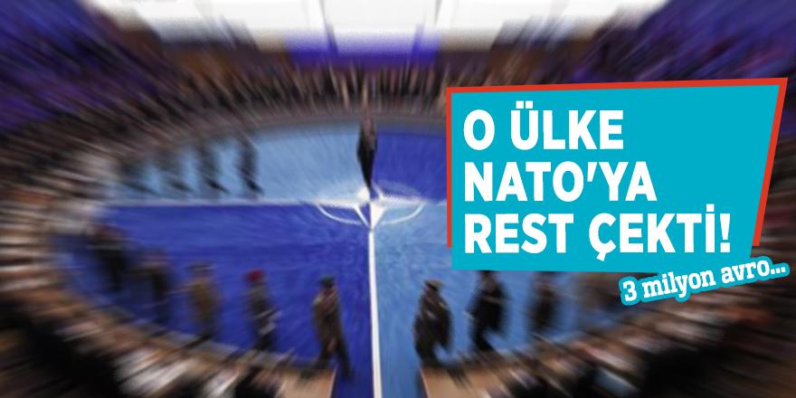 O ülke NATO'ya rest çekti! 3 milyon avro...