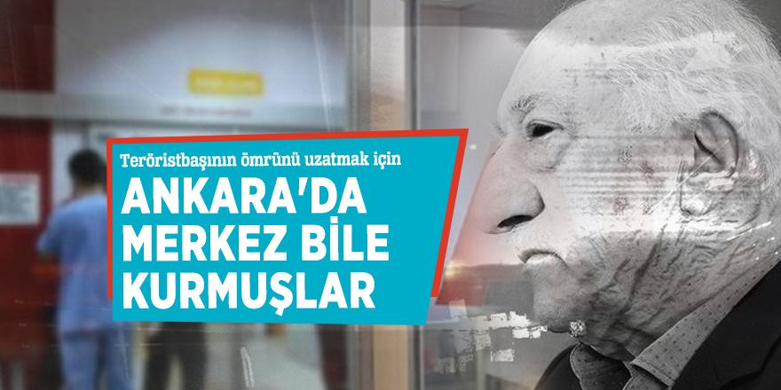Teröristbaşının ömrünü uzatmak için Ankara'da Merkez bile kurmuşlar