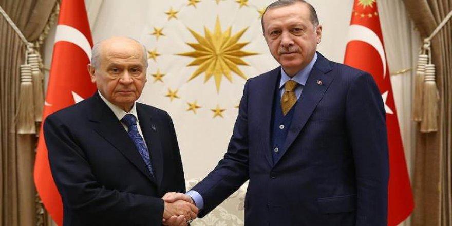 Cumhurbaşkanı Erdoğan ve Bahçeli arasında kritik görüşme!