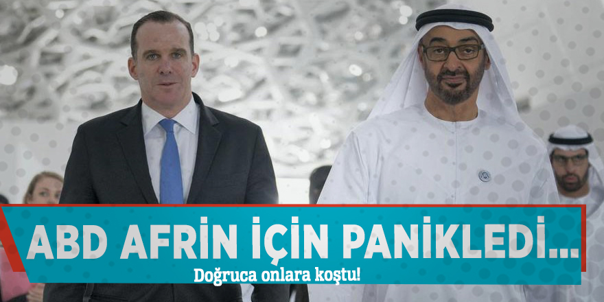 ABD Afrin için panikledi… Doğruca onlara koştu!