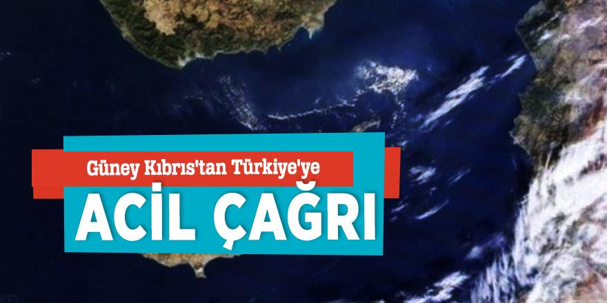 Güney Kıbrıs'tan Türkiye'ye acil çağrı!