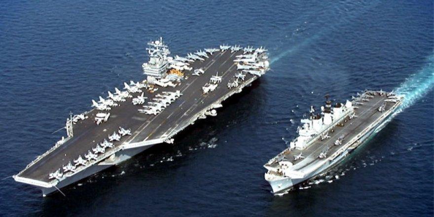 Savaş gemileri Karadeniz'e doğru yola çıktı!