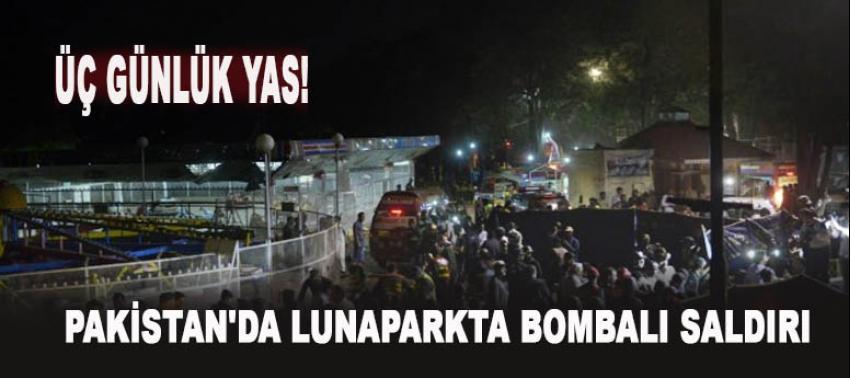 Pakistan'da lunaparkta bombalı saldırı