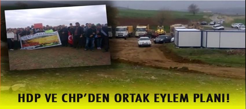 CHP ve HDP'nin ortak eylem planı!