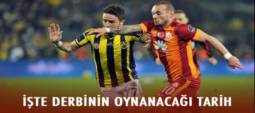 İşte Galatasaray-Fenerbahçe derbisinin oynanacağı tarih!