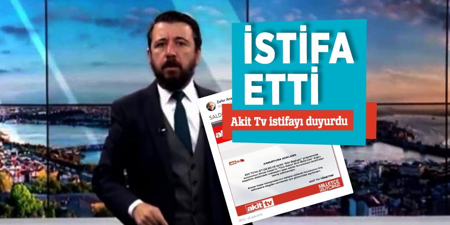 Akit TV sunucusu Ahmet Keser istifa etti