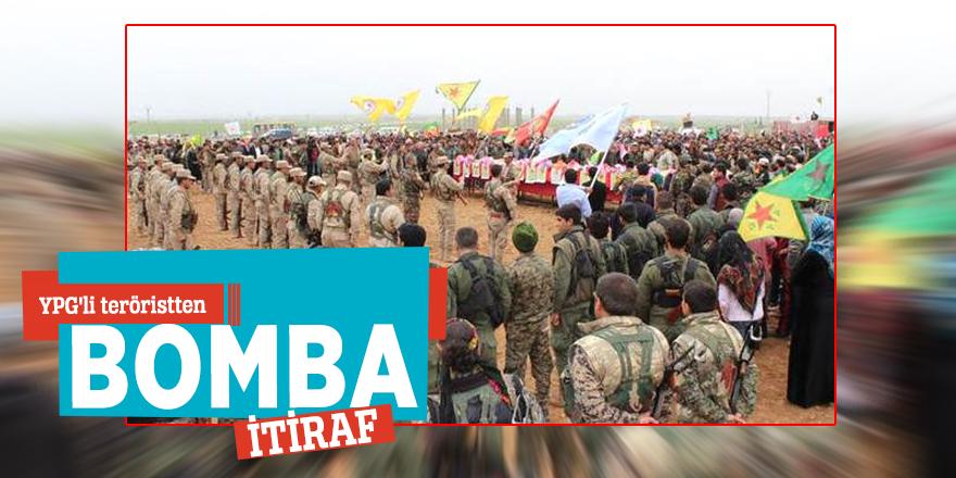 YPG'li teröristten 'dış güçlerin kuklasıyız' itirafı