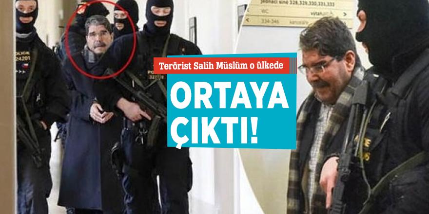 Terörist Salih Müslüm o ülkede  ortaya çıktı!