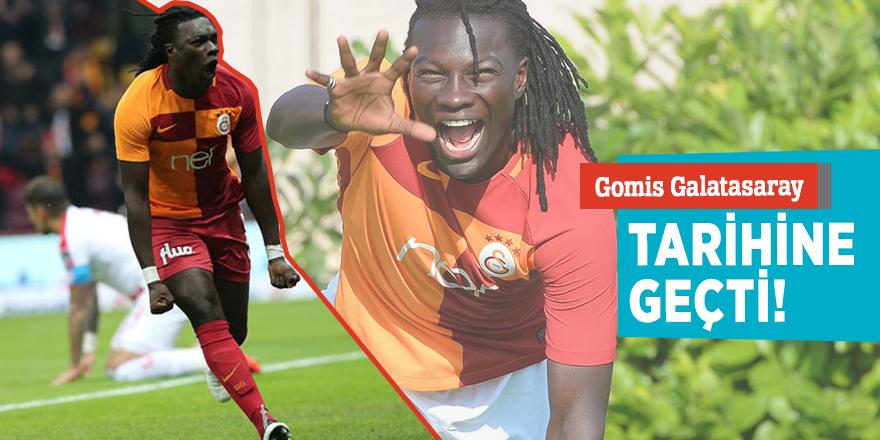 Gomis Galatasaray tarihine geçti!
