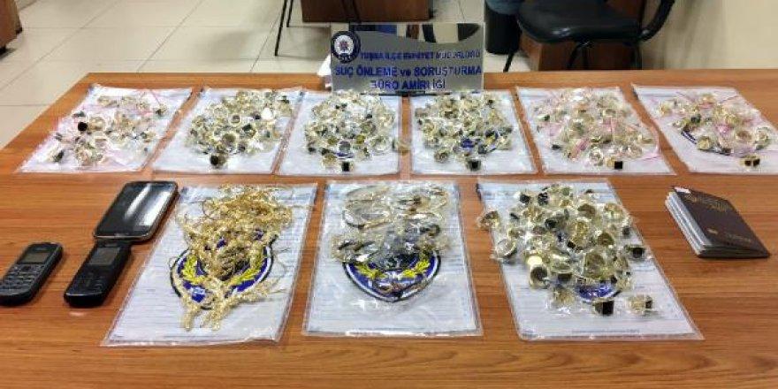 Van'da 4 kilo kaçak altın yakalandı