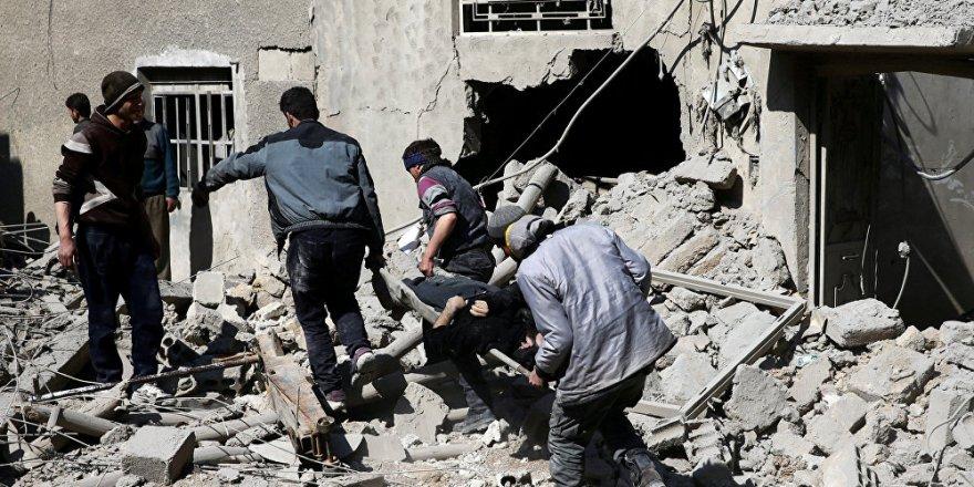 BM, Doğu Guta'daki katliamı açıkladı!