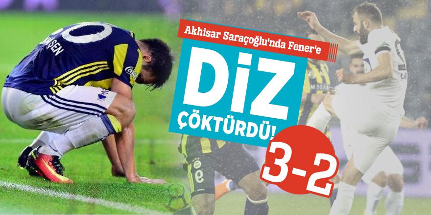 Akhisar Saraçoğlu'nda Fener'e diz çöktürdü! 3-2