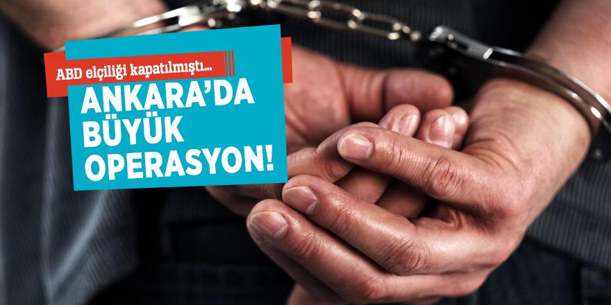 ABD elçiliği kapatılmıştı… Ankara'da büyük operasyon!