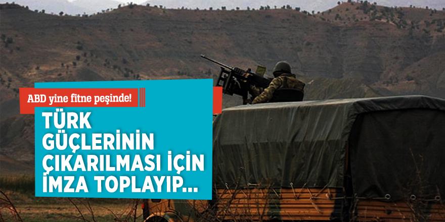 ABD yine fitne peşinde! Türk askerinin çıkarılmasını istediler
