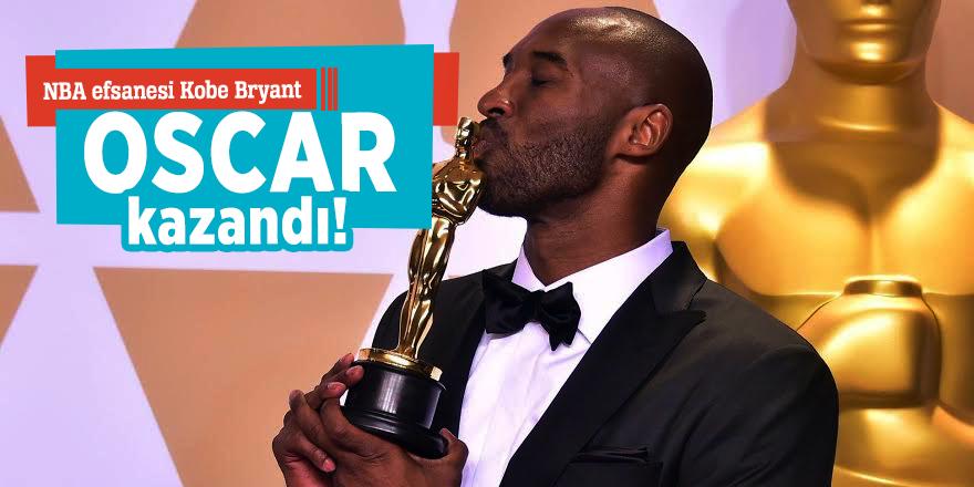 NBA efsanesi Kobe Bryant Oscar kazandı!