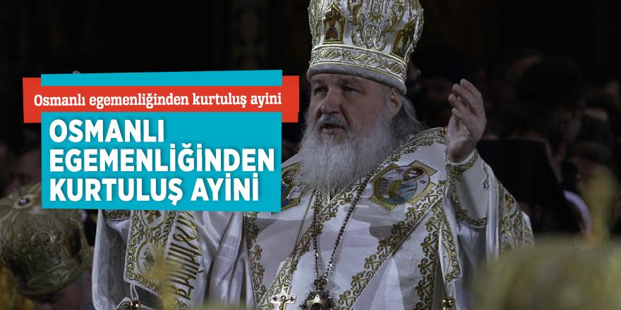 Rus Ortodoks Kilisesi Patriği yönetti