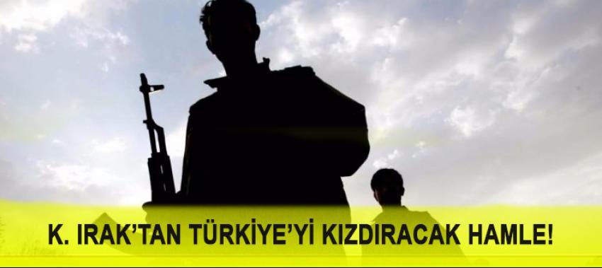 K. Irak'tan Türkiye'yi karşısına alacak hamle!