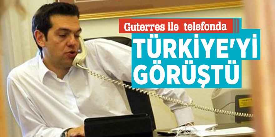 Çipras ile Guterres telefonda Türkiye'yi görüştü