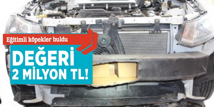 Trabzon'da 2 milyon TL'lik uyuşturucu yakalandı