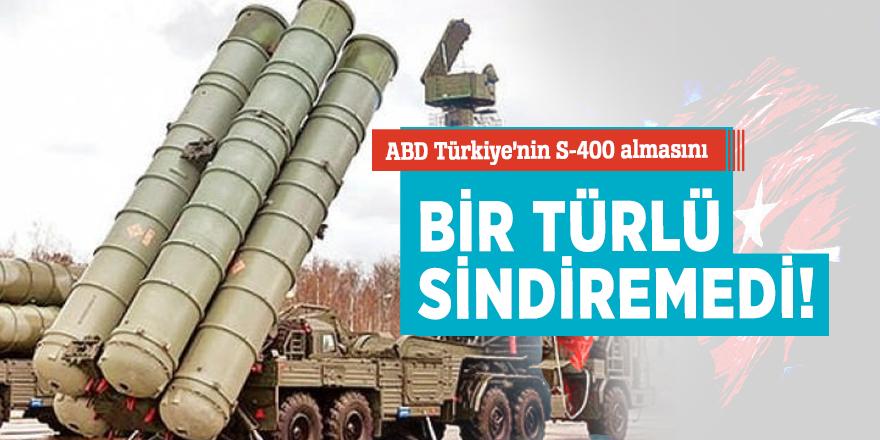 ABD Türkiye'nin S-400 almasını bir türlü sindiremedi!