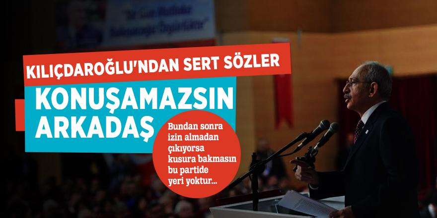 Kılıçdaroğlu'ndan sert sözler!CHP milletvekillerine tv yasağı...