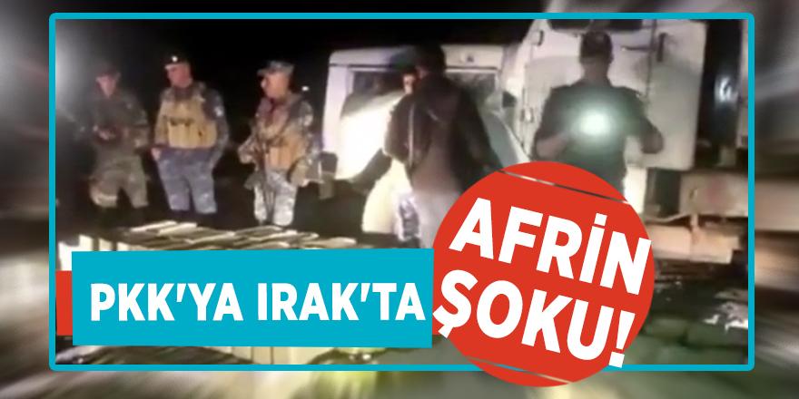 PKK'ya Irak'ta Afrin şoku!