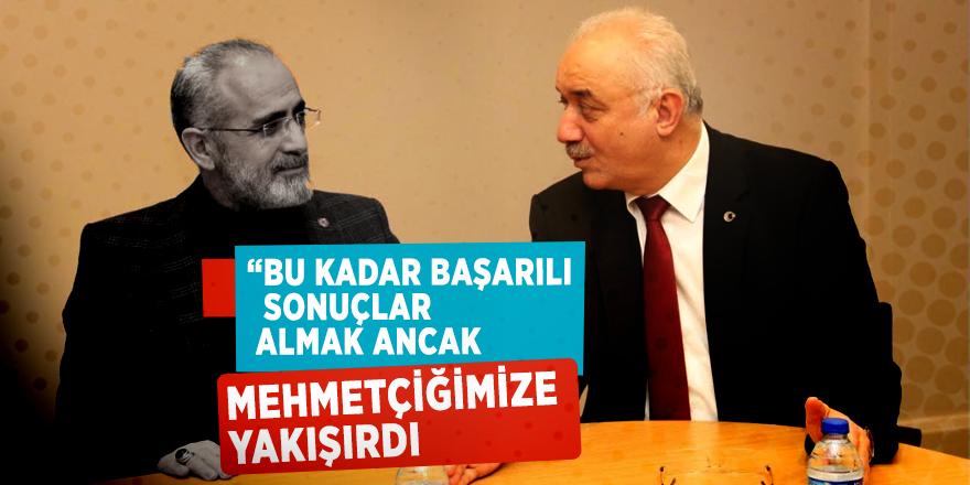 """Cumhurbaşkanı Başdanışmanı Yalçın Topçu: """"Bu kadar başarılı sonuçlar almak ancak Mehmetçiğimize yakışırdı"""""""