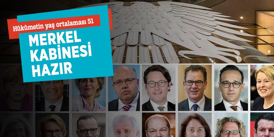 Hükümetin yaş ortalaması 51!Merkel kabinesi hazır...