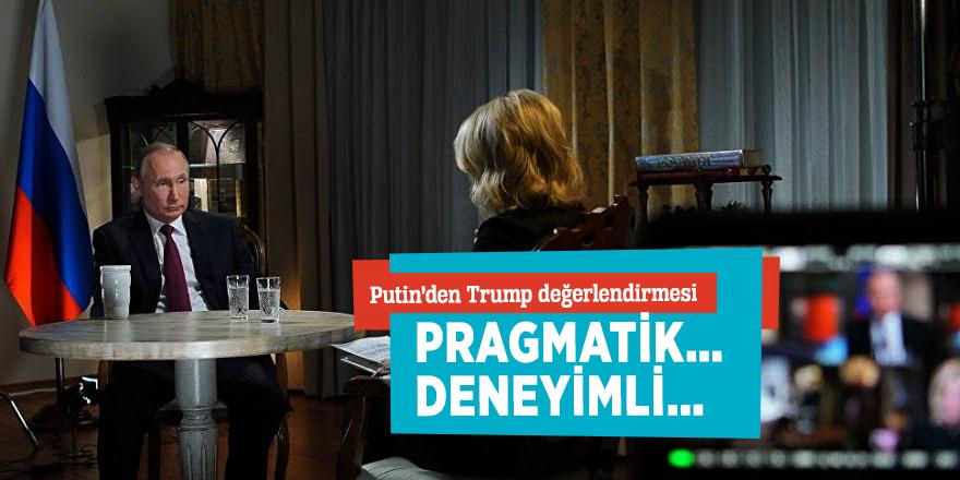 Putin'den Trump değerlendirmesi!Pragmatik… deneyimli…