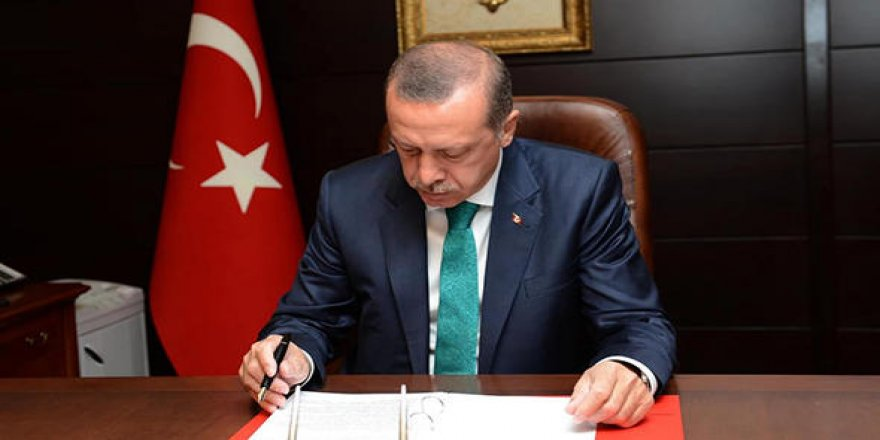 Cumhurbaşkanı Erdoğan 10 maddelik uyum yasasını onayladı