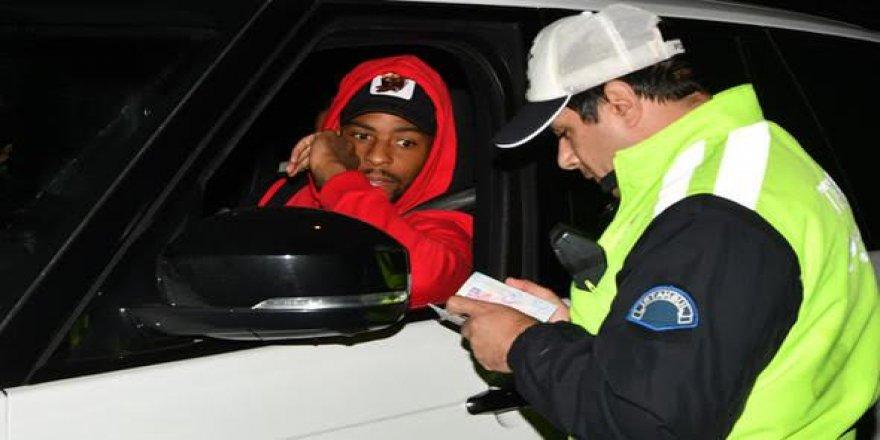 Galatasaray'ın yıldız futbolcusu ehliyetsiz çıktı