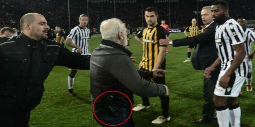 Yunanistan'da lig maçları durduruldu