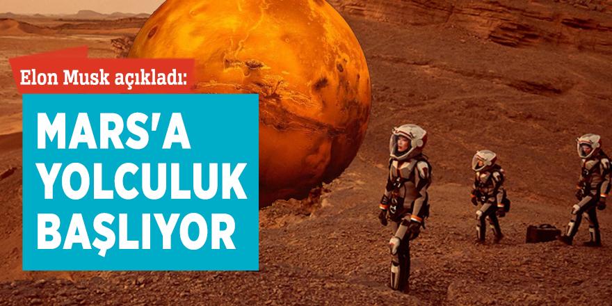 Elon Musk açıkladı: Mars'a test yolculukları başlıyor