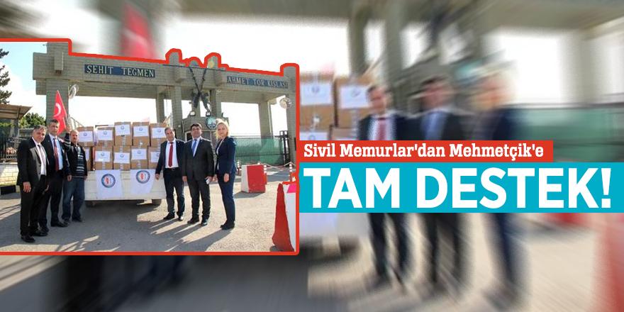 Sivil Memurlar'dan Mehmetçik'e tam destek!