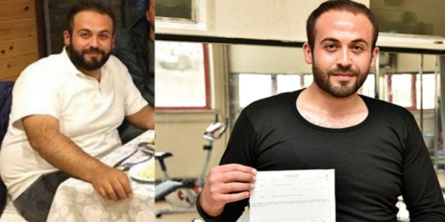 32 kilo veren Demirel askere uğurlandı