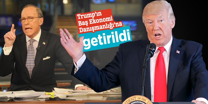 Trump Kudlow'u Baş Ekonomi Danışmanlığı'na getirdi