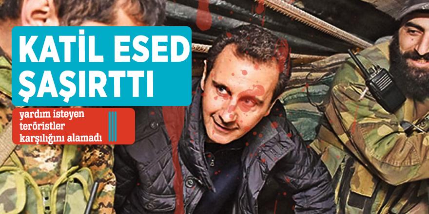 Esed'den yardım isteyen teröristler karşılığını alamadı