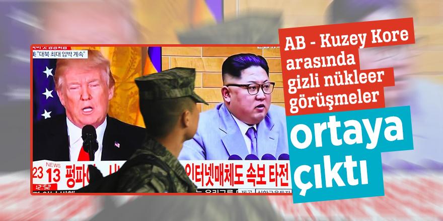 AB - Kuzey Kore arasında gizli nükleer görüşmeler ortaya çıktı