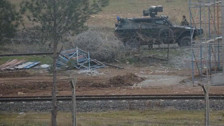 Sınıra yaklaşan araç imha edildi: 5 DAEŞ'li öldürüldü