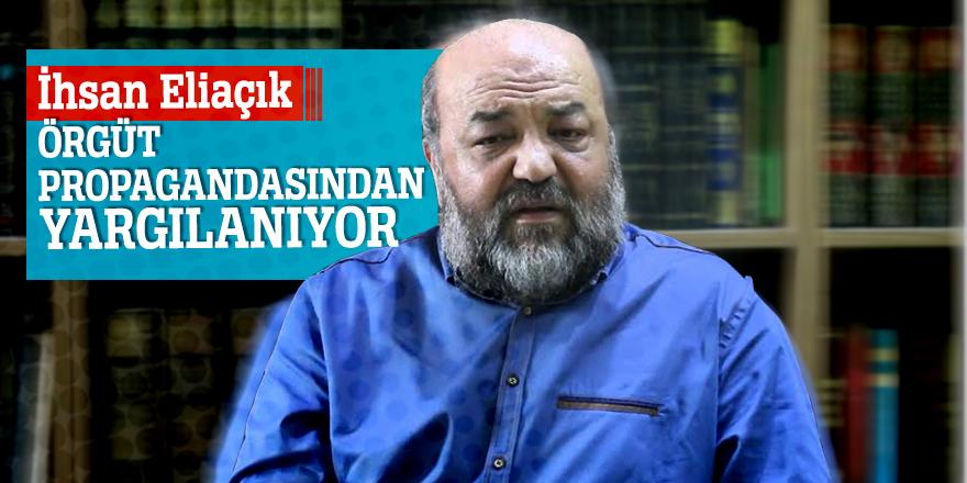 İhsan Eliaçık'aPKK propagandası davası