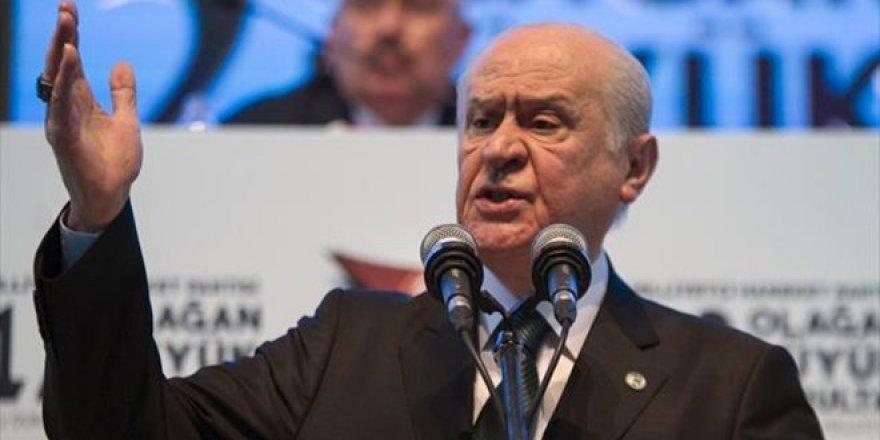 Bahçeli: Türkiye'ye tuzak kuruluyor