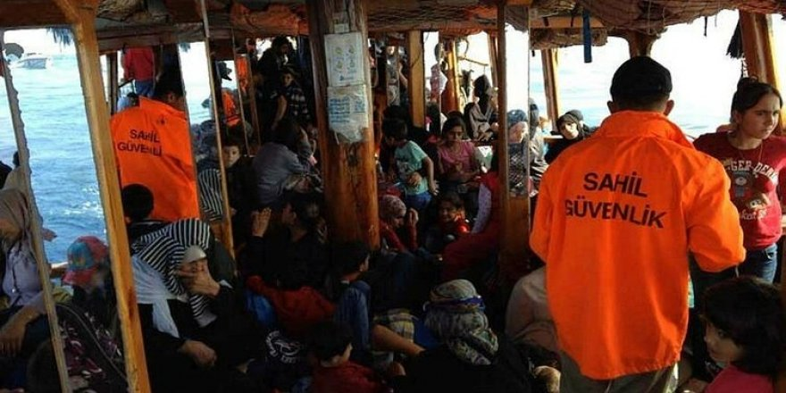 Mersin'de 192 yabancı uyruklu yakalandı