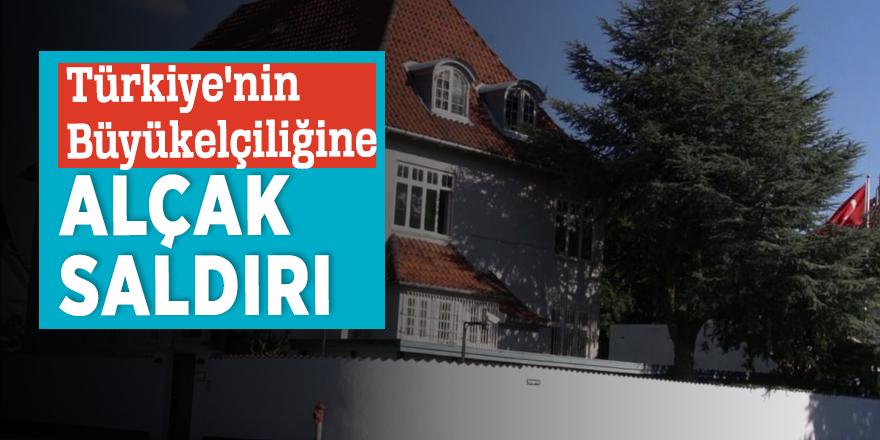 Türkiye'nin Büyükelçiliğine alçak saldırı