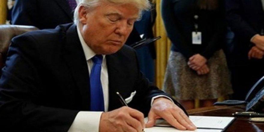 Trump imza attı! Yasaklandı