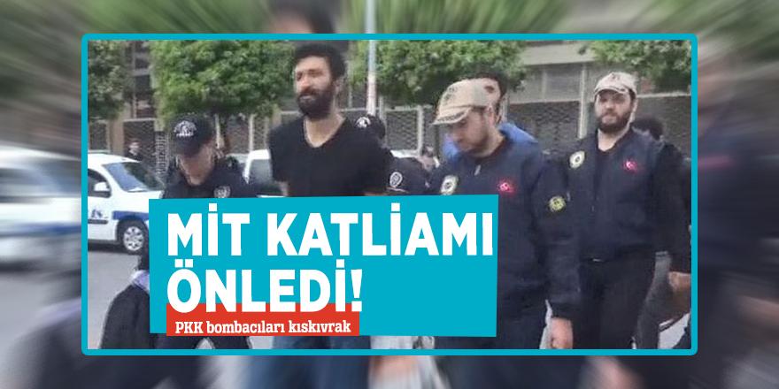 MİT katliamı önledi! PKK bombacıları kıskıvrak
