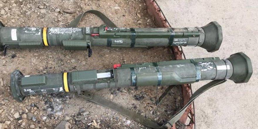 Şırnak'ta 2 adet AT-4 tanksavar silahı ele geçirildi